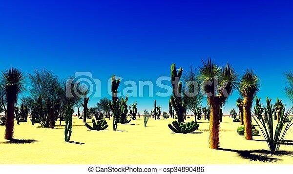 El desierto americano - csp34890486