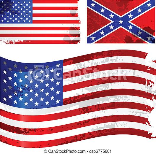 Bandera americana - csp6775601