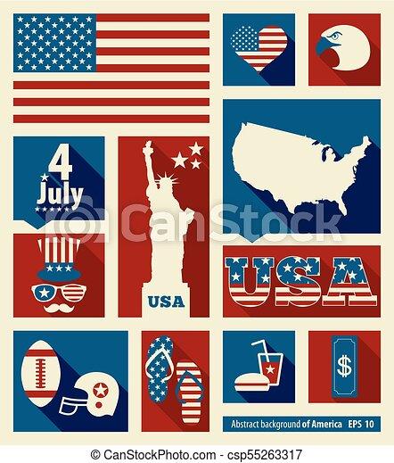 Una invitación americana - csp55263317