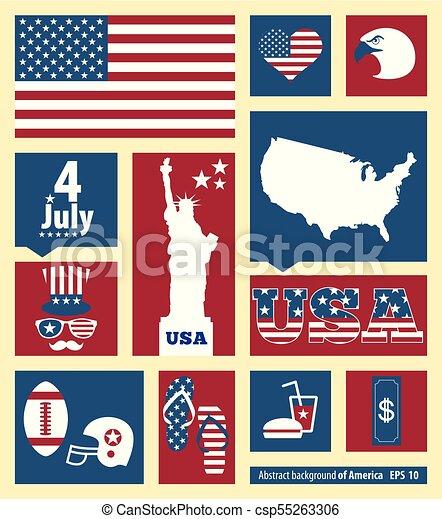 Una invitación americana - csp55263306