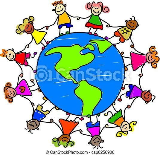 norteamericano, niños - csp0256906