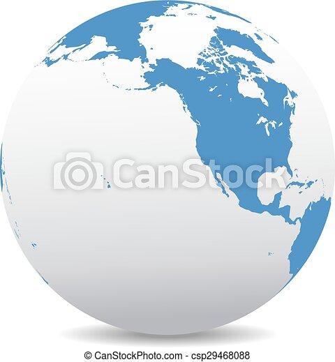 North America, Canada, Hawaii