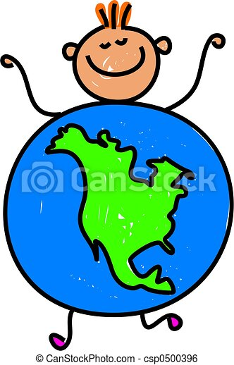 north american kid happy little caucasian boy dressed up as rh canstockphoto com north america map clip art free black and white clipart north america