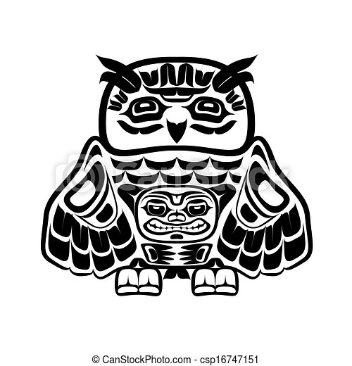 Black And White Native Artwork