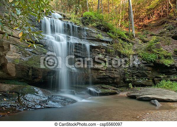 North Carolina Waterfall - csp5560097