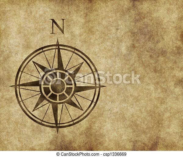 north compass map arrow  - csp1336669