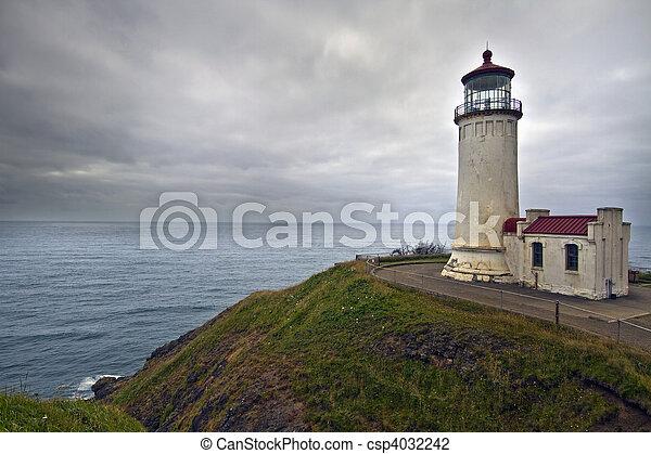 North Head Lighthouse - csp4032242