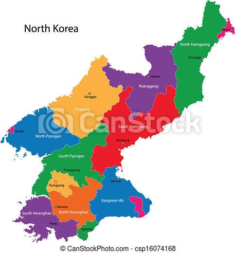 North Korea Map Map Of Administrative Divisions Of North Korea