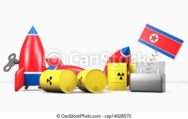 North Korea - The Menace - csp14028570