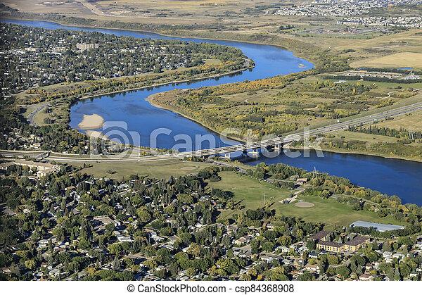 North Park Aerial - csp84368908