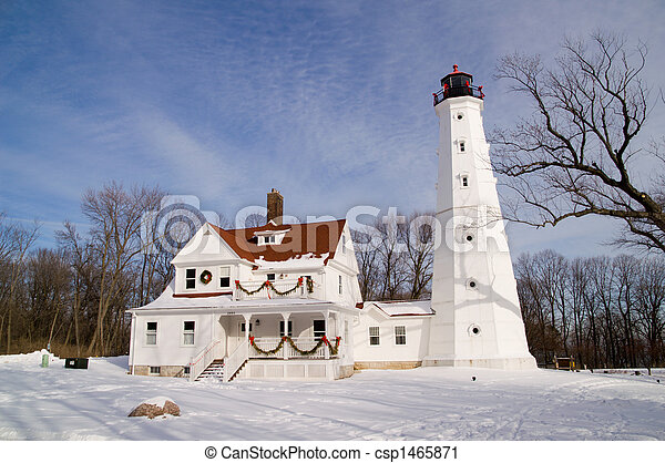 North Point Lighthouse - csp1465871