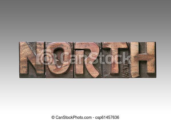 North vintage type - csp61457636