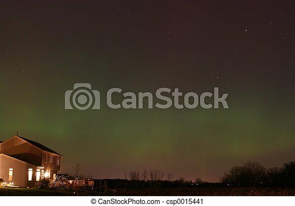 Northern Lights - csp0015441
