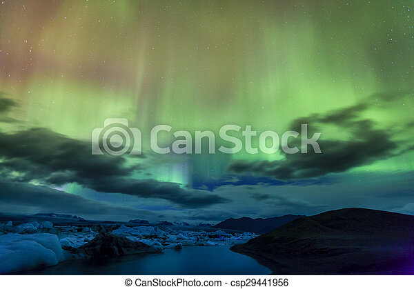 Northern lights - csp29441956