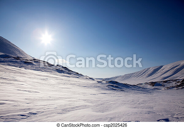 Northern Winter Landsacpe - csp2025426