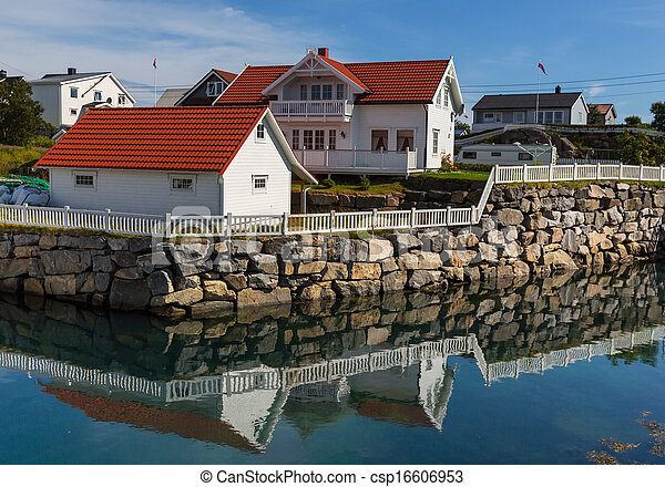 norvège, huttes - csp16606953