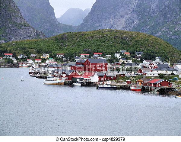 norvège - csp4829379