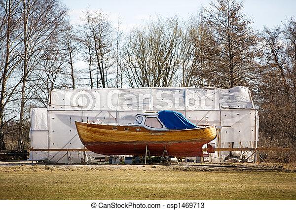norvegese, barca - csp1469713