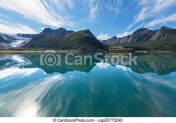 Norway landscapes - csp20773240