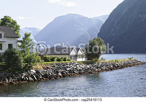 norwegian fjord - csp25416113