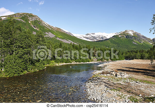 norwegian fjord - csp25416114