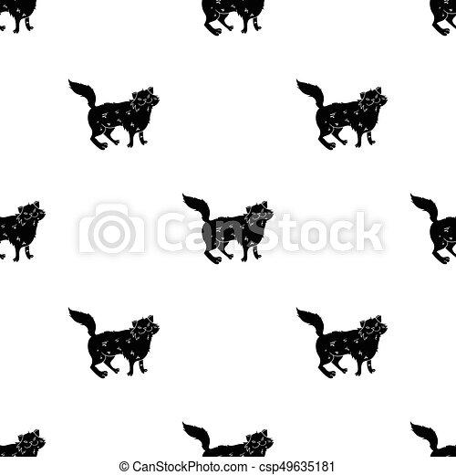 Black cat, Persian cat Norwegian Forest cat Kitten Black cat Cartoon, Cute  tail rolls, black cats and footprints, miscellaneous, mammal png | PNGEgg