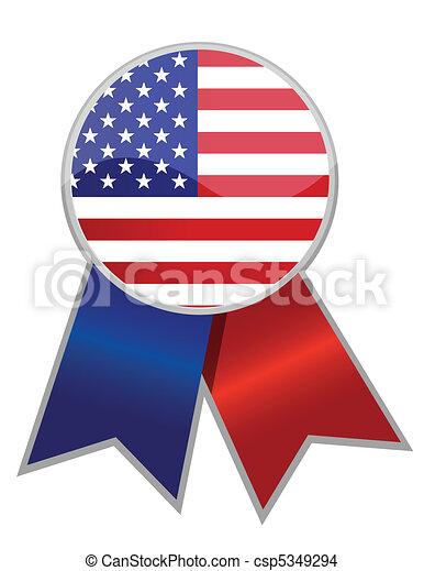 Cinta americana - csp5349294