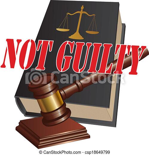 Not Guilty Verdict - csp18649799