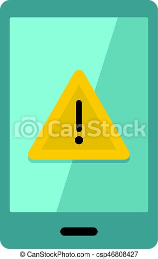 Not working phone icon isolated. Not working phone icon flat isolated on white background vector