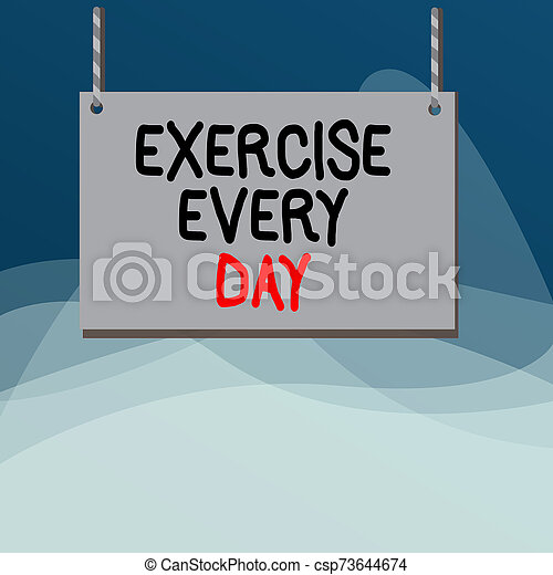nota, string., fixo, quadro, cada, tábua, adquira, escrita, day., energeticamente, listrado, exercício, madeira, ordem, madeira, showcasing, mostrando, coloridos, corporal, ajustar, negócio, vazio, foto, movimento, saudável - csp73644674
