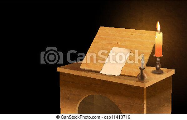 notary desk - csp11410719
