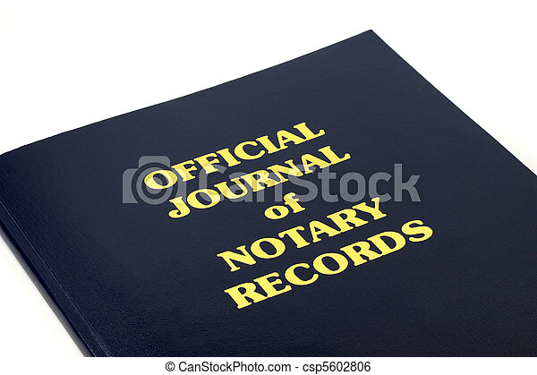 Notary Records - csp5602806