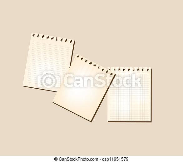 Note Paper - csp11951579