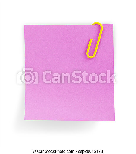 note paper - csp20015173