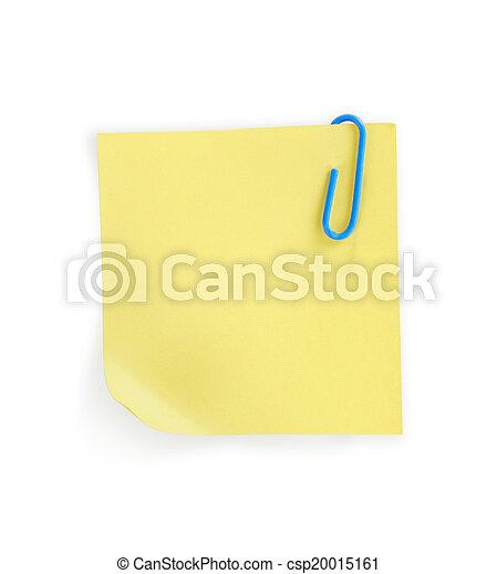 note paper - csp20015161