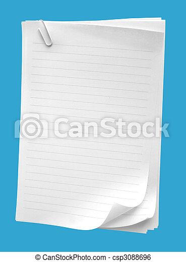 Note paper - csp3088696