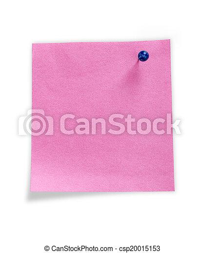 note paper - csp20015153