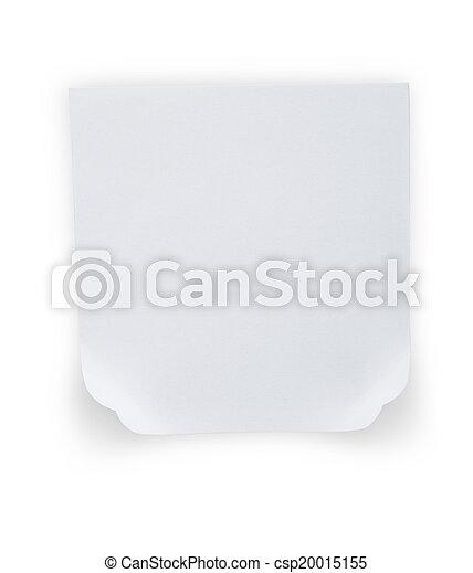 note paper - csp20015155