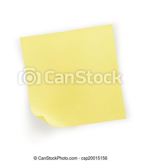 note paper - csp20015156