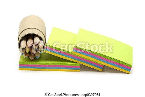 Note Paper - csp0397064