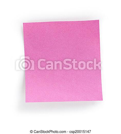 note paper - csp20015147