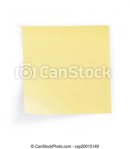 note paper - csp20015149