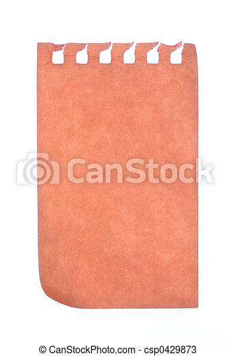 note paper - csp0429873