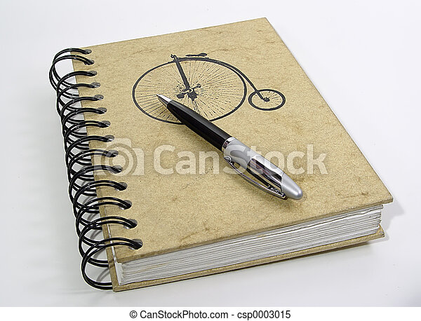Notebook and Pen 2 - csp0003015