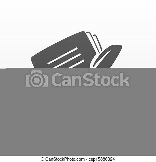 notebook and pen - csp15886324