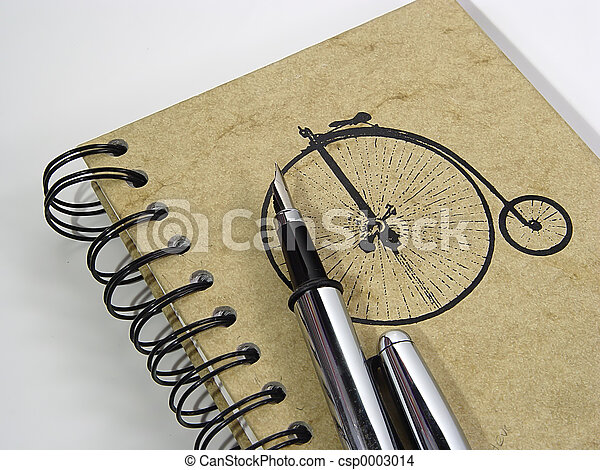 Notebook and Pen - csp0003014