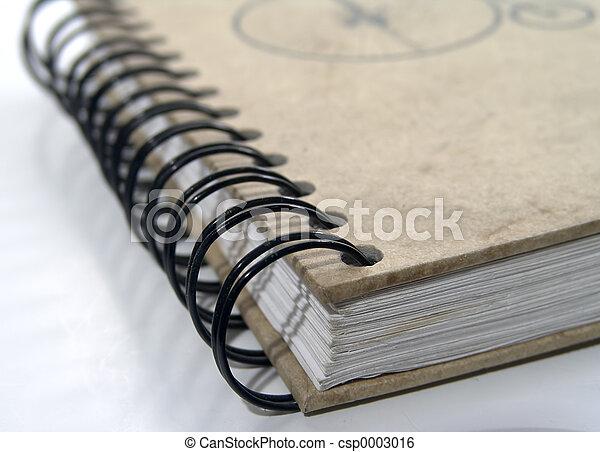 Notebook Binder - csp0003016