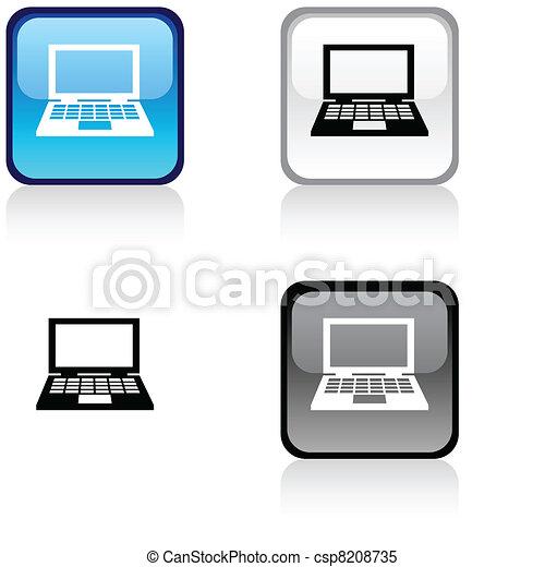 Notebook button. - csp8208735