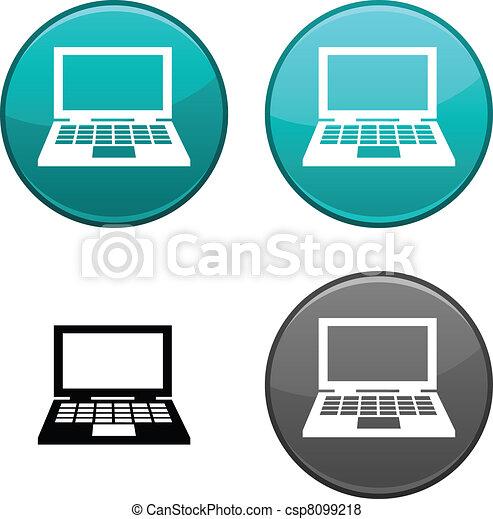 Notebook button. - csp8099218