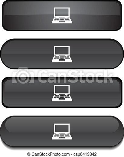 Notebook button set. - csp8413342